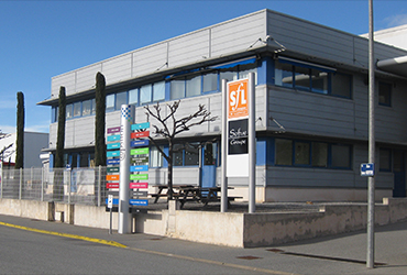 Technoparc bâtiment